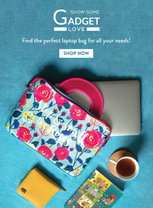 Laptop Sleeves & Bags By Chumbak!
