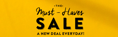 Must Haves Sale!