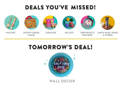 Tomorrow's Deal!