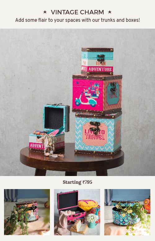 Storage Boxes By Chumbak