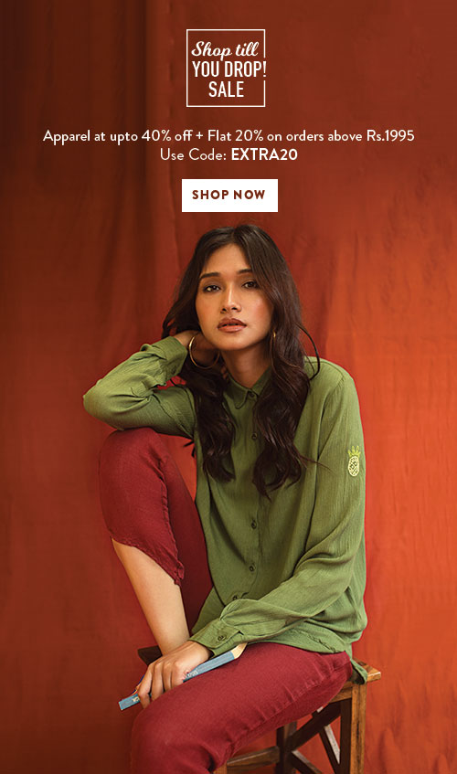 Apparel Sale By Chumbak