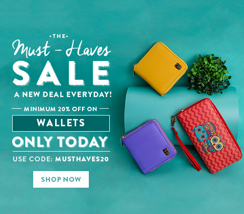 Wallets on Sale!