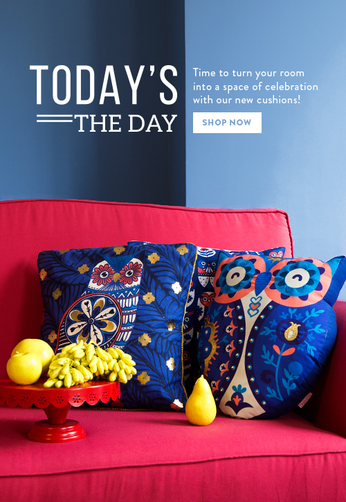 New Cushions on Chumbak!
