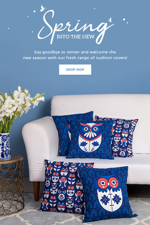 Cushions on Chumbak!