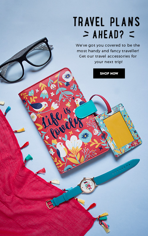 Travel Accessories on Chumbak!