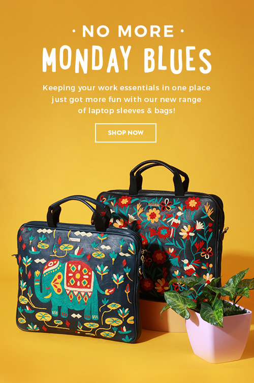 New Laptop Sleeves & Bags on Chumbak