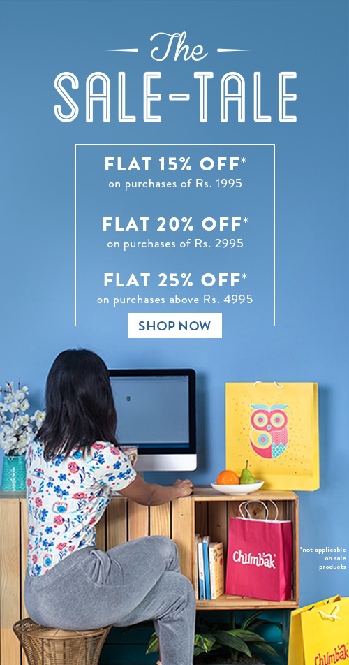The Sale Tale By Chumbak!