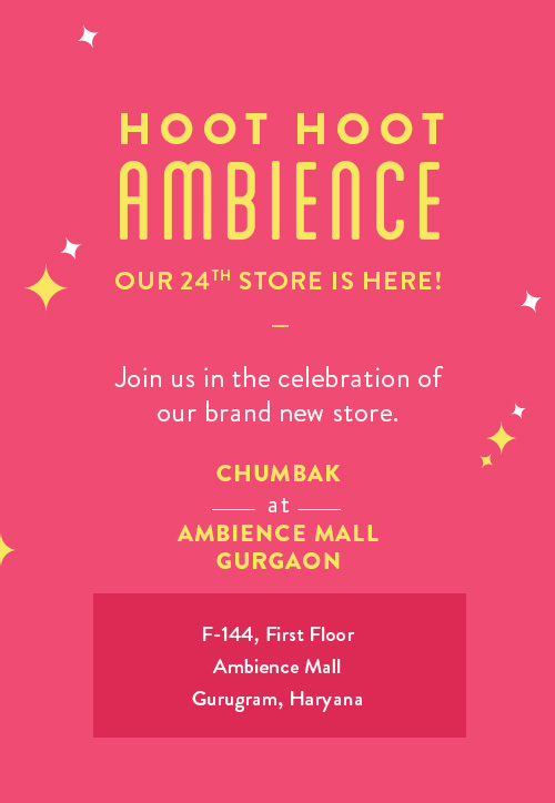 Chumbak is now at Ambience Mall!