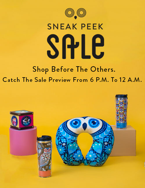 Sneak Peak Sale at 6 PM!