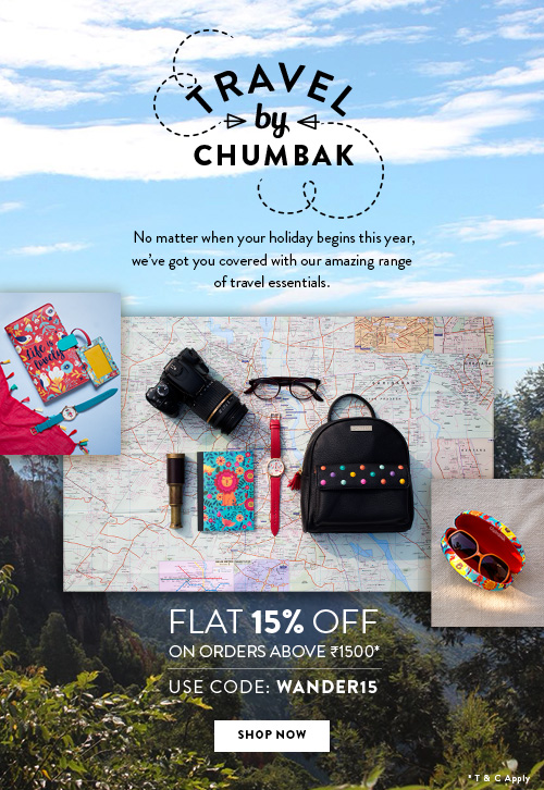 Travel By Chumbak!