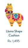 Llama Shape Cushion